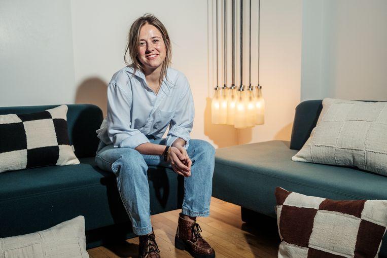Ella Hustinx: 'Ik ben trots en dankbaar dat mijn droom lijkt uit te komen. En dat ik een beetje mag bijdragen aan een eerlijke wereld.' Beeld Jakob van Vliet