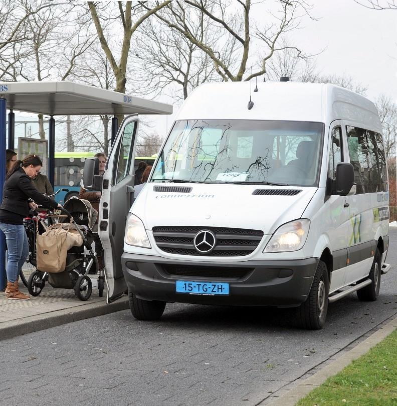 De Noord-Bevelandse buurtbus viert zijn vijfde verjaardag.