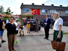 Ollongren bezoekt Langdonk: 'We moeten in deze wijken investeren in veiligheid én goede woningen'