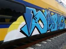 Justitie rondt onderzoek Zwolse graffitispuiter af, man zou jarenlang gebouwen en treinen hebben beklad
