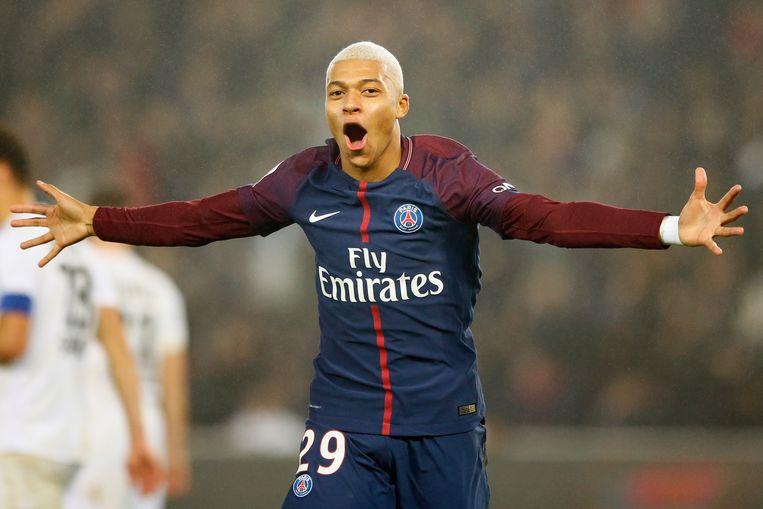 Kylian Mbappé, nog maar net 19 geworden, scoorde 33 keer in 2017. Ongelofelijke cijfers voor de nieuwe Franse held, die in de zomer de overstap maakte van Monaco naar PSG.