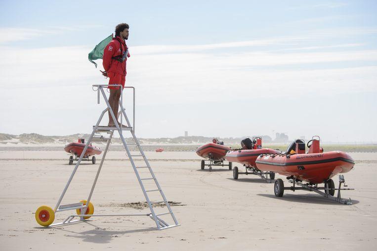 In de bewaakte kustzones is er de voorbije 35 jaar geen sterfgeval geweest door verdrinking. Beeld Photo News