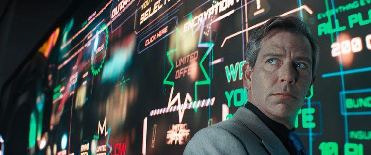 Ben Mendelsohn - de slechterik van een generatie - speelt opnieuw de villain in 'Ready Player One'. Beeld 20th Century Fox