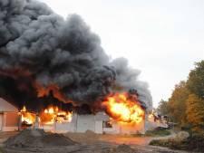 100.000 euro schade voor Gebroeders van Lymborch door brand in Oeffelt
