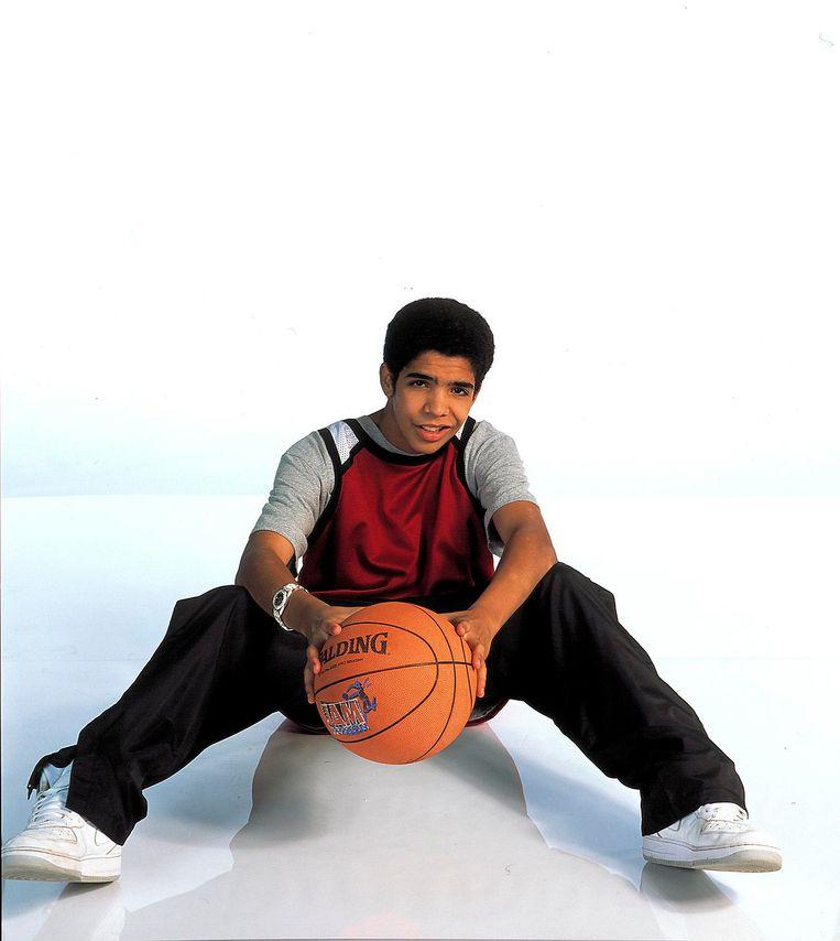 Drake, toen nog gewoon Aubrey Graham geheten, als Jimmy in 'Degrassi: The Next Generation'. Beeld RTL