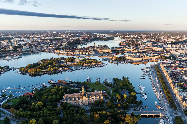 In Stockholm is er tussen de armere en rijkere wijken een verschil van ongeveer zestien jaar in levensverwachting.  Beeld Getty Images