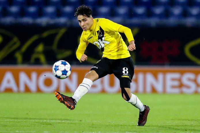 Met een sublieme assist maakte Yassine Azzagari zaterdag als invaller het verschil tegen Telstar (1-0).