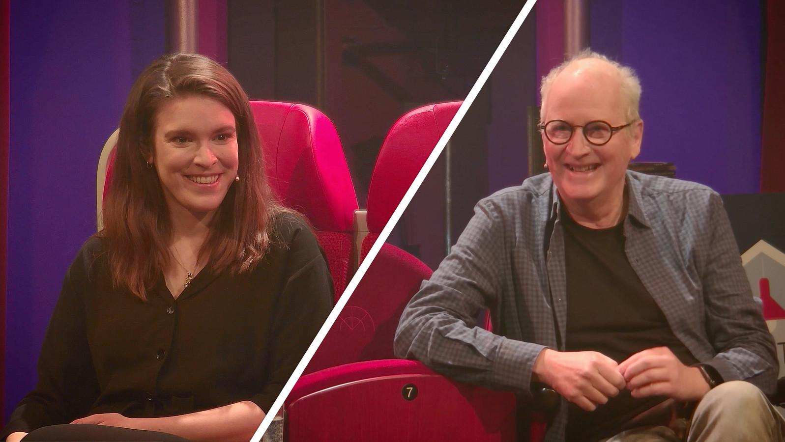 Herman Koch en Alma Mathijsen