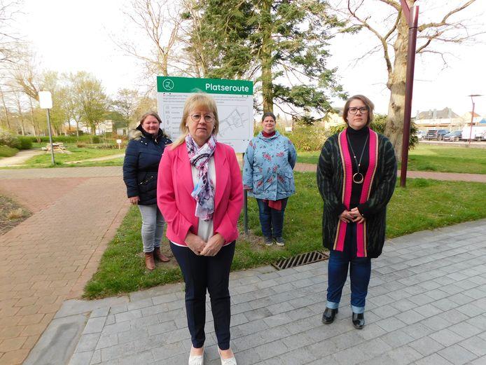 De nieuwe wandelroute bevindt zich in het centrum van de gemeente.