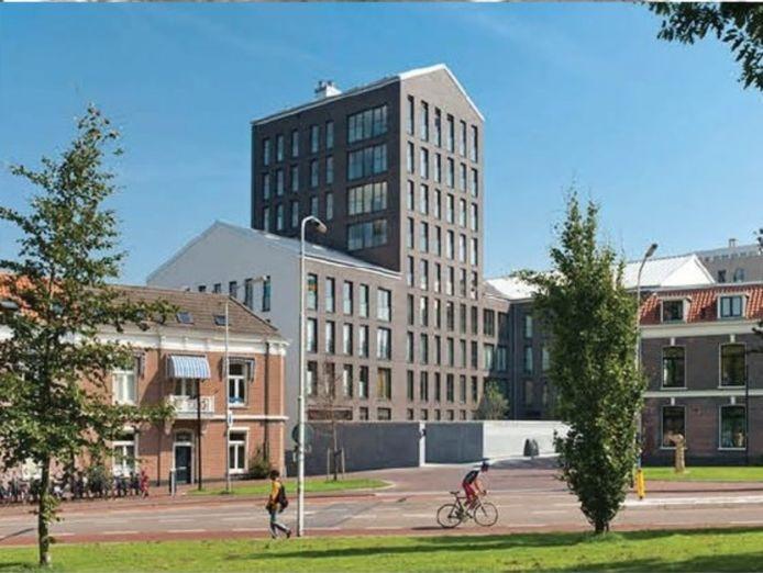 Sfeerimpressie van de Molenzoom in Houten. Veel inwoners hebben moeite met de geplande hoogbouw.