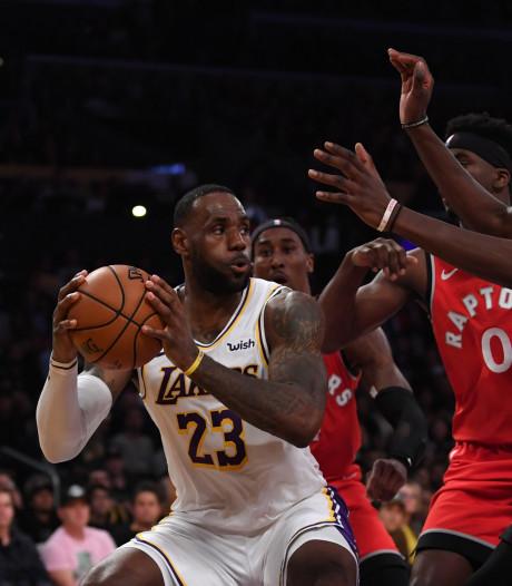 Zegereeks Lakers eindigt tegen NBA-kampioen