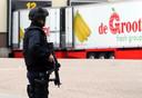 Beveiliging bij fruitbedrijf De Groot in Hedel.