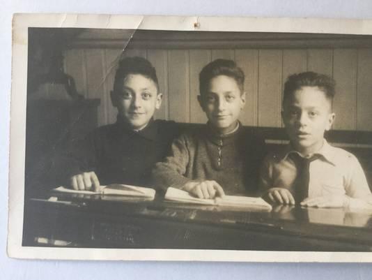 Van links naar rechts. Philip Nort, Izak Nort en Israël Harry Nort.