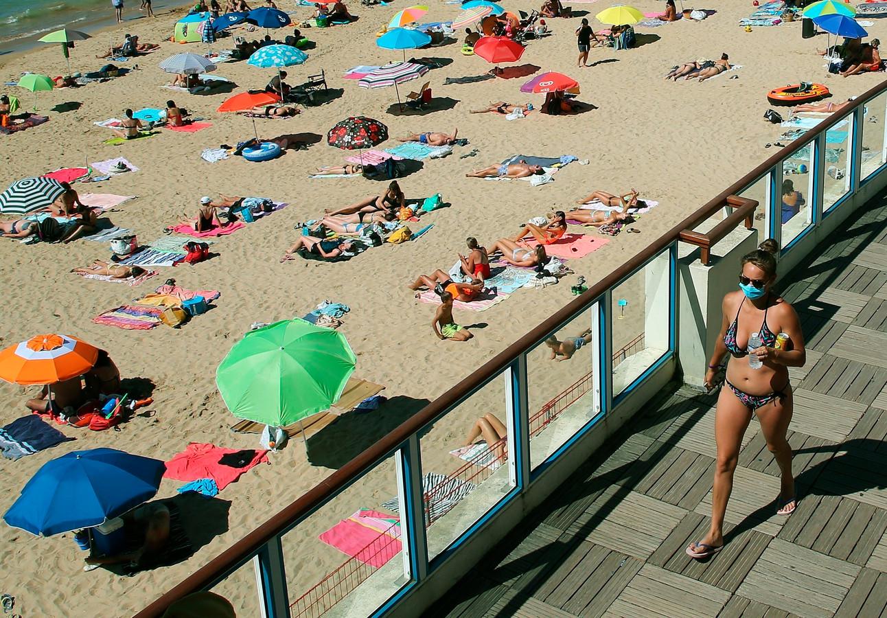 Frankrijk trok afgelopen zomer minder toeristen dan in het jaar ervoor.