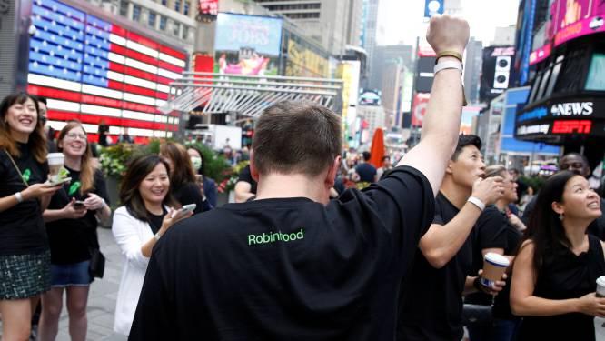 Aandeel Robinhood meteen flink lager bij beursdebuut
