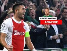 Bij Ajax is in negen jaar tijd alles veranderd: op de plek van Boerrigter speelt nu Tadic