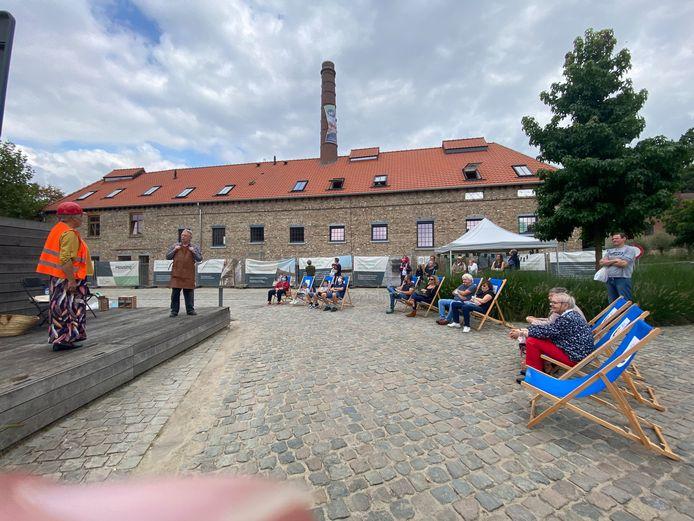 De Open Monumentendag in Overijse speelde zich dit jaar voornamelijk af in en rond de voormalige brouwerijen.
