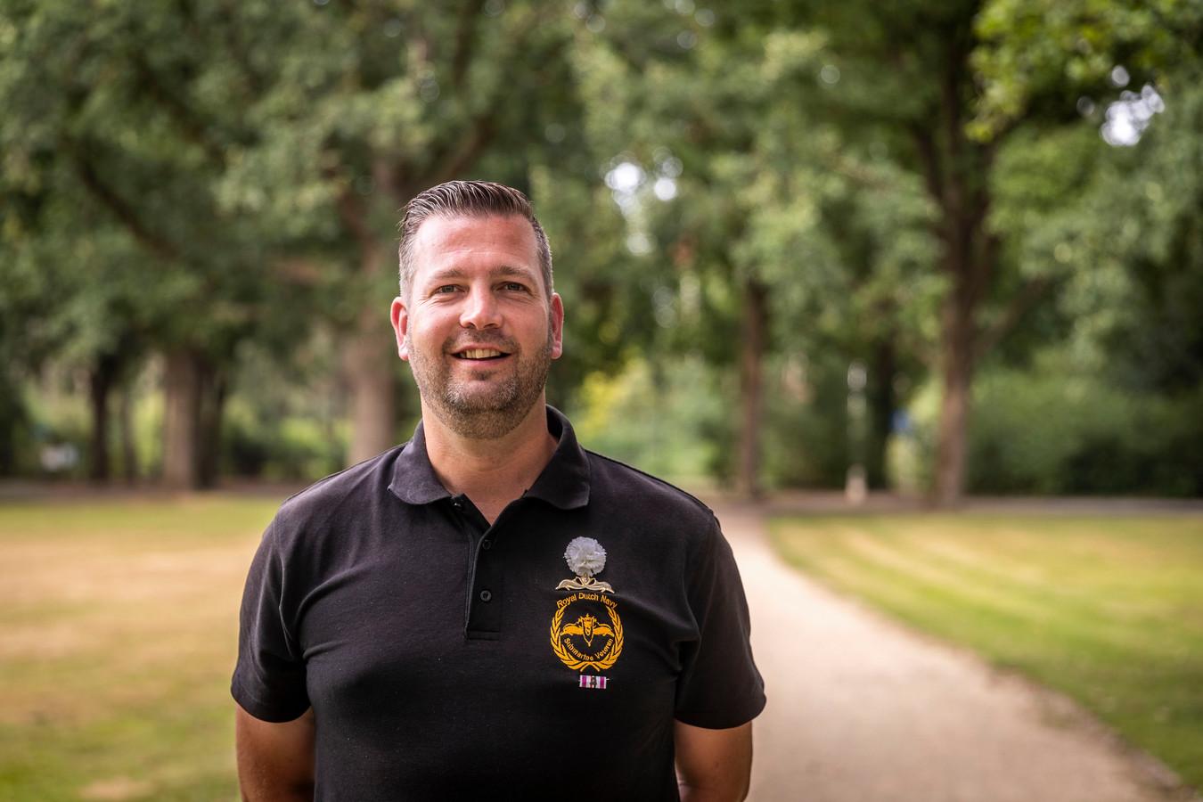 Pascal van der Voort is oorlogsveteraan en wordt ambassadeur van veteranen in Eindhoven.