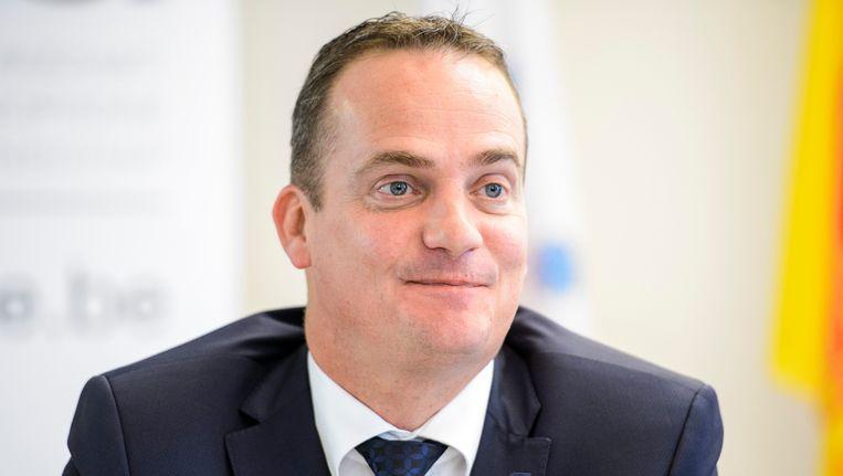 Oliver Paasch, minister-president van Ostbelgien
