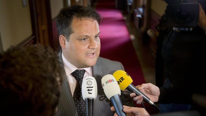 Demissionair minister van Financiën Jan Kees de Jager.