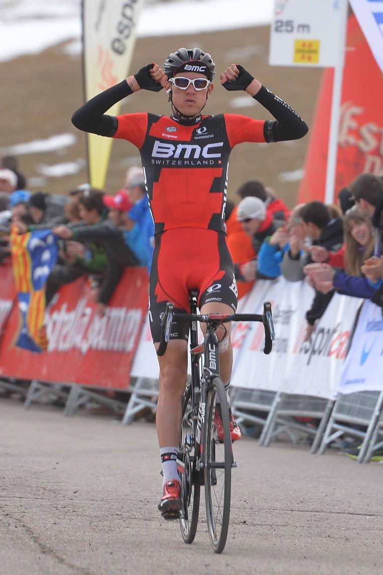 Teejay Van Garderen won na een solo. Beeld Tim De Waele