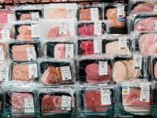 We aten vorig jaar minder vlees, maar dat kwam niet door ons koopgedrag in de supermarkt