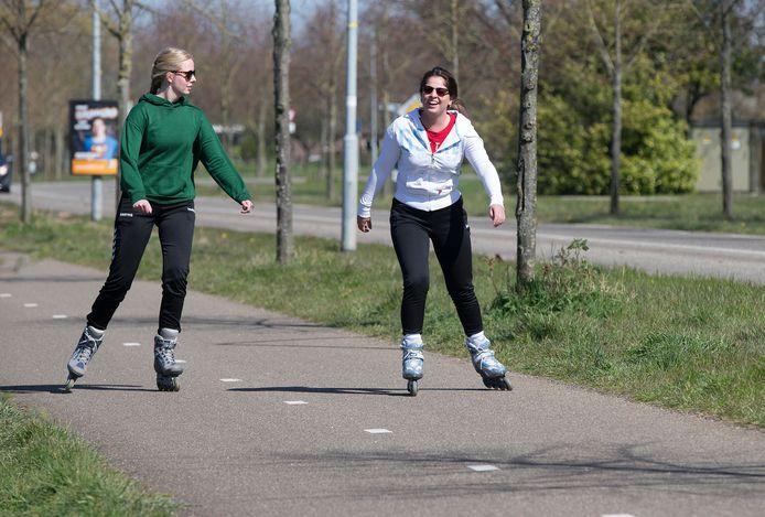 Rolschaaters in Doetinchem.