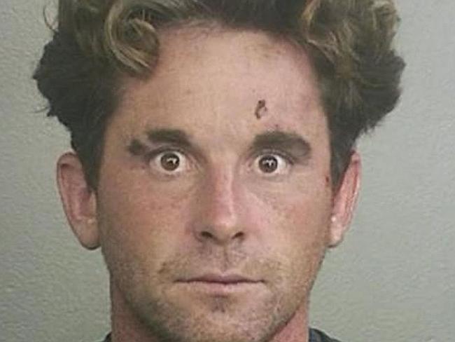 Matthew Kenney werd aangehouden toen hij naakt door de straten van Florida liep.