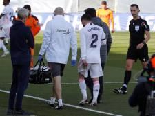 Na Ramos en Marcelo haakt ook Carvajal weer geblesseerd af bij Real Madrid