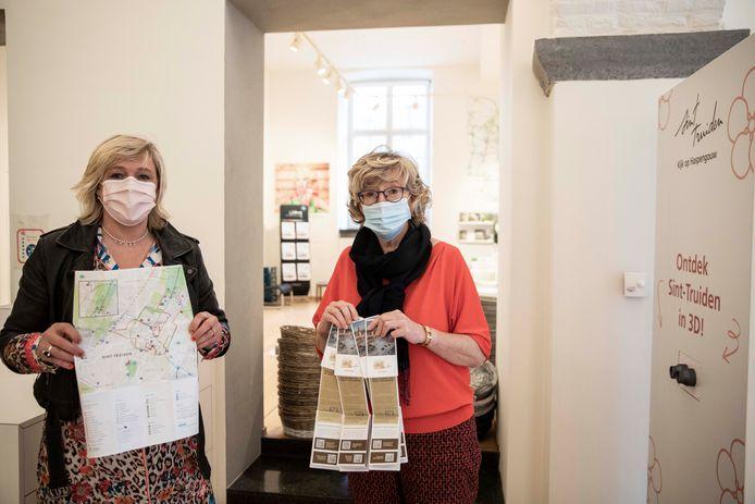 De nieuwe stadsplannen zijn vanaf dit weekend af te halen bij Toerisme Sint-Truiden.