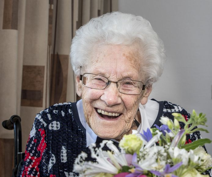 Enschede 201805 Mevr Ebberink - Vonk 109 jaar oudste inwoonster van Enschede en Overijssel editie:Alle Foto Reinier van Willigen