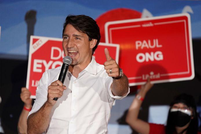 De Canadese premier Justin Trudeau.