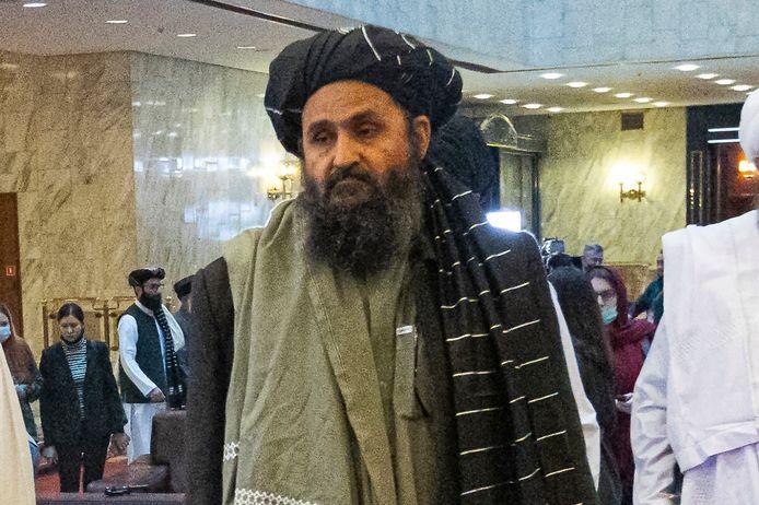 Mede-oprichter en nummer twee van de taliban, Mullah Abdul Ghani Baradar. Archiefbeeld.