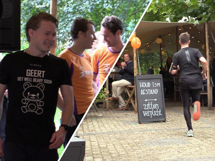 Bart en Hans organiseerden een marathon voor hun overleden broer: 'Hij zou enorm trots zijn op ons'