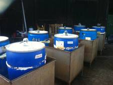 Drugsafval gevonden in bestelbus in Sint-Annaland