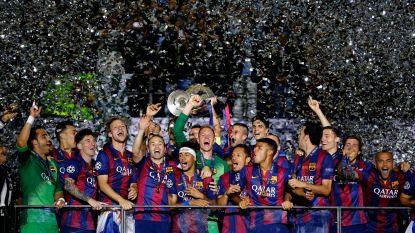 Vermaelen genoot mee van unicum: 'MSN' schenkt Barcelona tweede treble na kat-en-muisspel in CL-finale van 2015