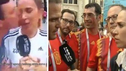 Geconfronteerd met eerst een gluiperd en dan een echte macho, klaagt Spaanse WK-journaliste seksuele intimidatie aan in Rusland