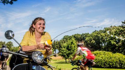 """Onze columniste Sarah van Aert-de Bie nam afscheid van haar Tourdebutant: """"Bij allebei een beetje traantjes"""""""