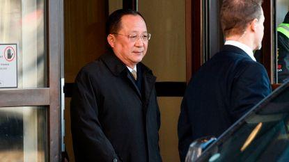 Noord-Koreaanse buitenlandminister ontvangen door Zweedse premier