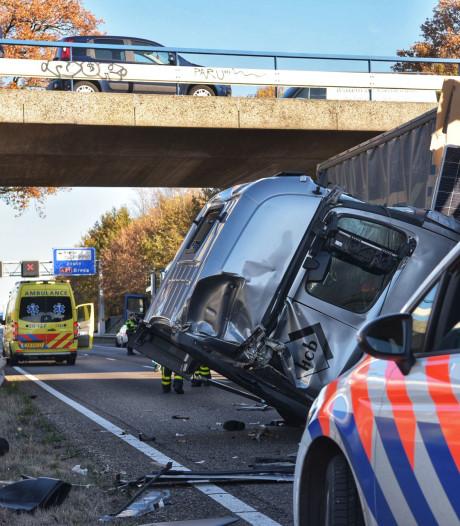 Verkeersinfarct rondom Breda voorbij