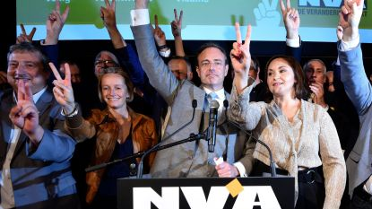 Het scheelde slechts 278 stemmen of Bart De Wever was zijn meerderheid in Antwerpen kwijt