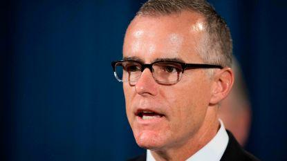 Ook ex-FBI-vicedirecteur hield notities bij van conversaties met Trump