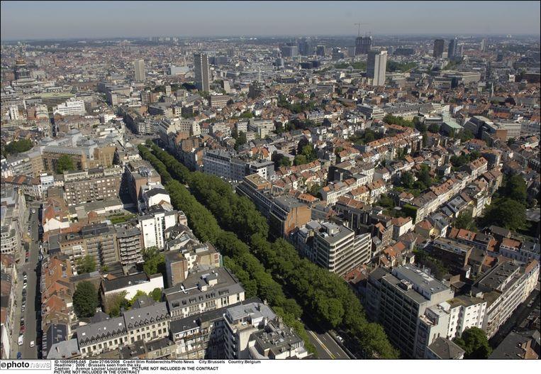 De Louizalaan te Brussel.