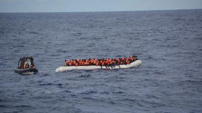 Libische kustwacht redt 125 migranten