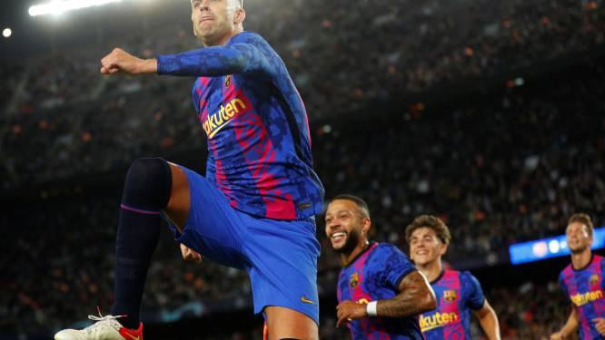 Geen overschot, wel rampscenario afgewend: 'oude rot' Piqué schenkt FC Barcelona winst tegen Kiev