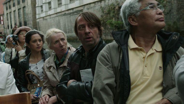 Wim Willaert (midden) is momenteel te zien in 'Eigen kweek'. Beeld VRT