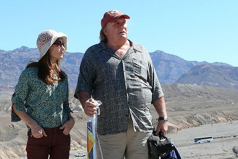 Isabelle Huppert en Gérard Depardieu in Valley of Love (2015). Beeld -