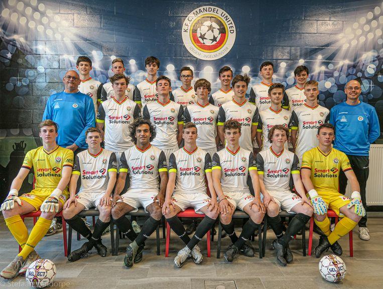 De 19-jarigen van KFC Mandel United werden Ploeg van het Jaar.
