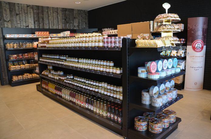 De H2i Foodmarket in Voorde (Ninove).