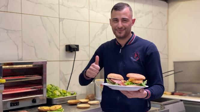 """Nieuw burger- en tacorestaurant in Brugse Poort: """"Ik was het beu om thuis te zitten, dus dacht: dan maak ik maar een restaurant van mijn café"""""""